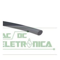 Tubo termo retratil 1mm preto 1mm/0,65mm