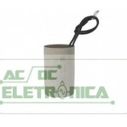 Capacitor de partida 30uF x 250Vac c/fio 5% 50/60hz