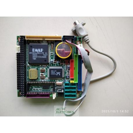 Placa CPU DM & P M6117D TOPRO TP6508IQ ICOP-6054VE PC104