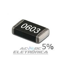 Resistor 120K 1/16w 5%  SMD 0603 - mcr03